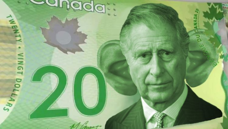 Prince Charles on a $20 bill
