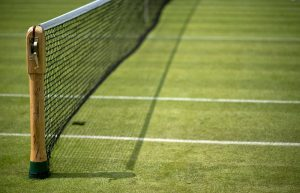 Tennis net at Wimbledon