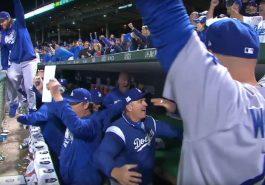 LA Dodgers celebrate not meeting the President