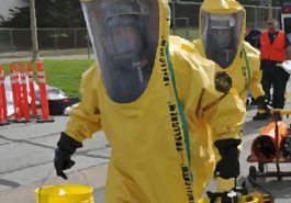 Hazmat crew cleaning up toxic masculinity
